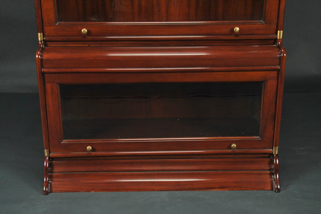 Reproduction Globe Wernicke Stacking Barrister Bookcase : reproduction barrister bookcase mahogany 6964 from www.antiquepurveyor.com size 1280 x 853 jpeg 93kB