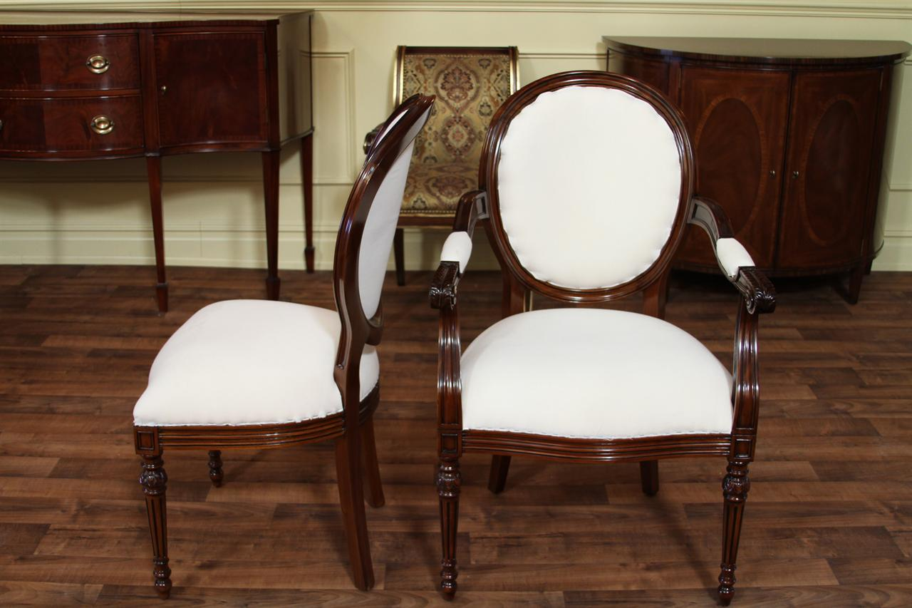 french round back dining chairs cameo back upholstered chairs. Black Bedroom Furniture Sets. Home Design Ideas