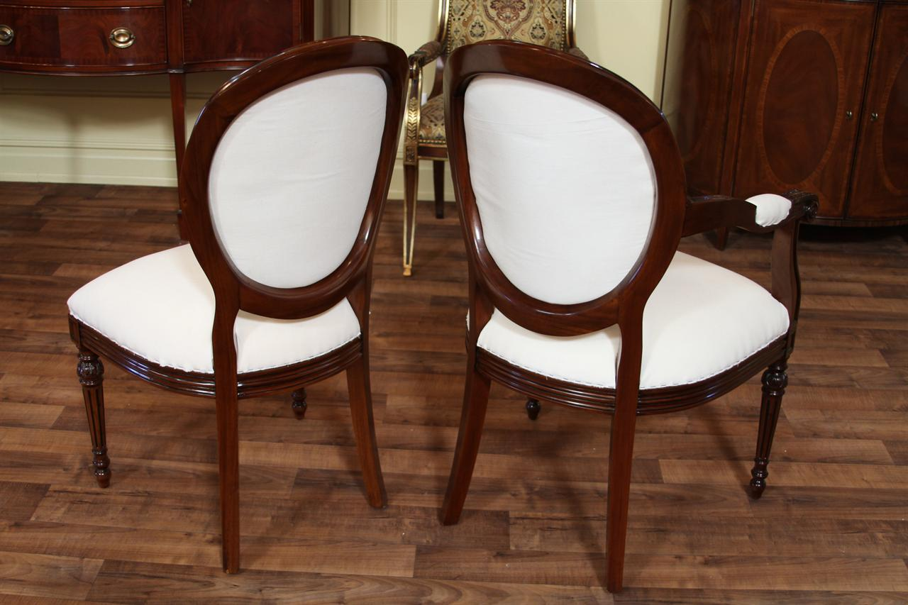 french round back dining chairs cameo back upholstered chairs beige fabric upholstered modern dining room chairs round