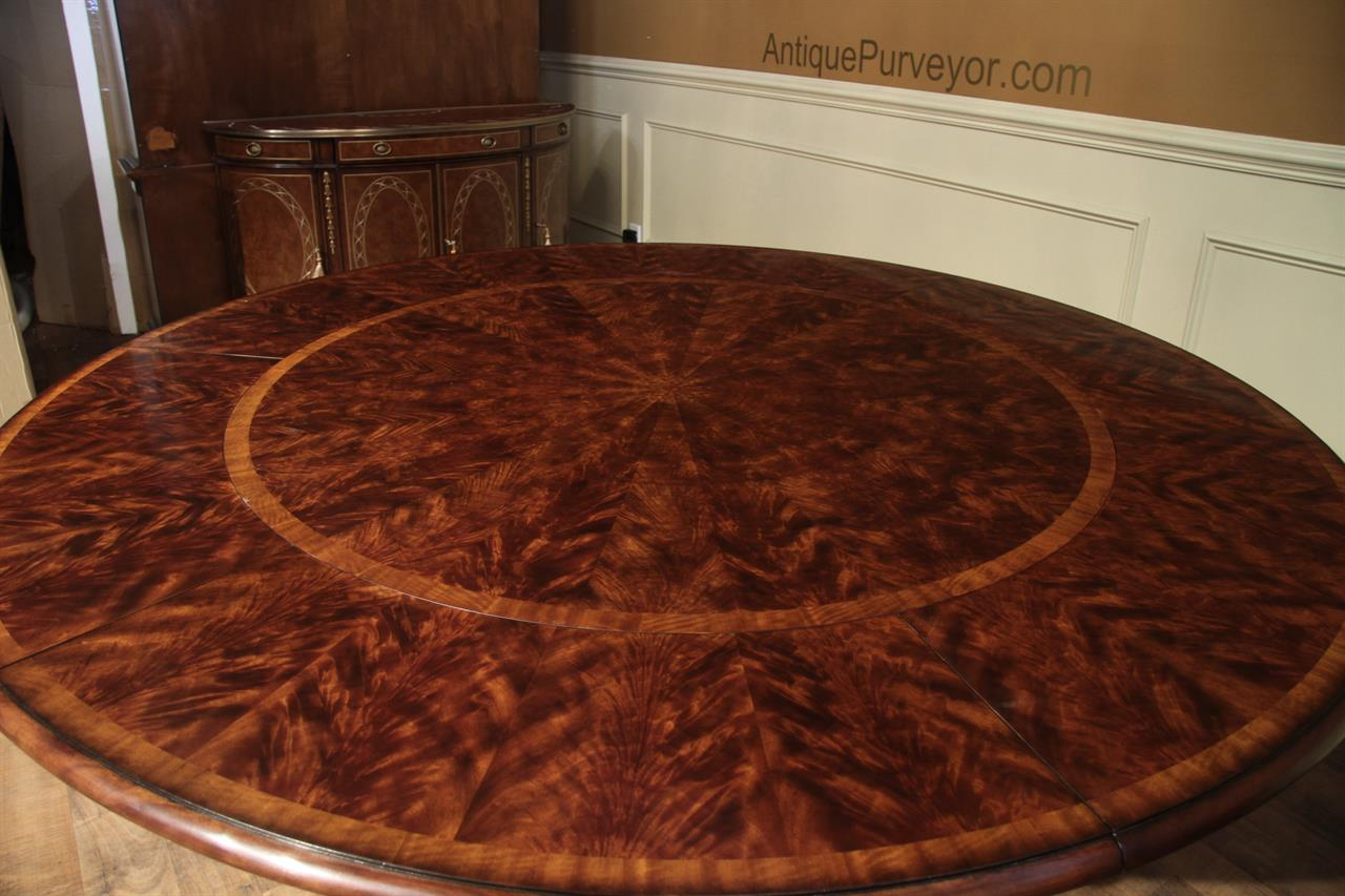 Round Formal Dining Table For 8 Room Ideas
