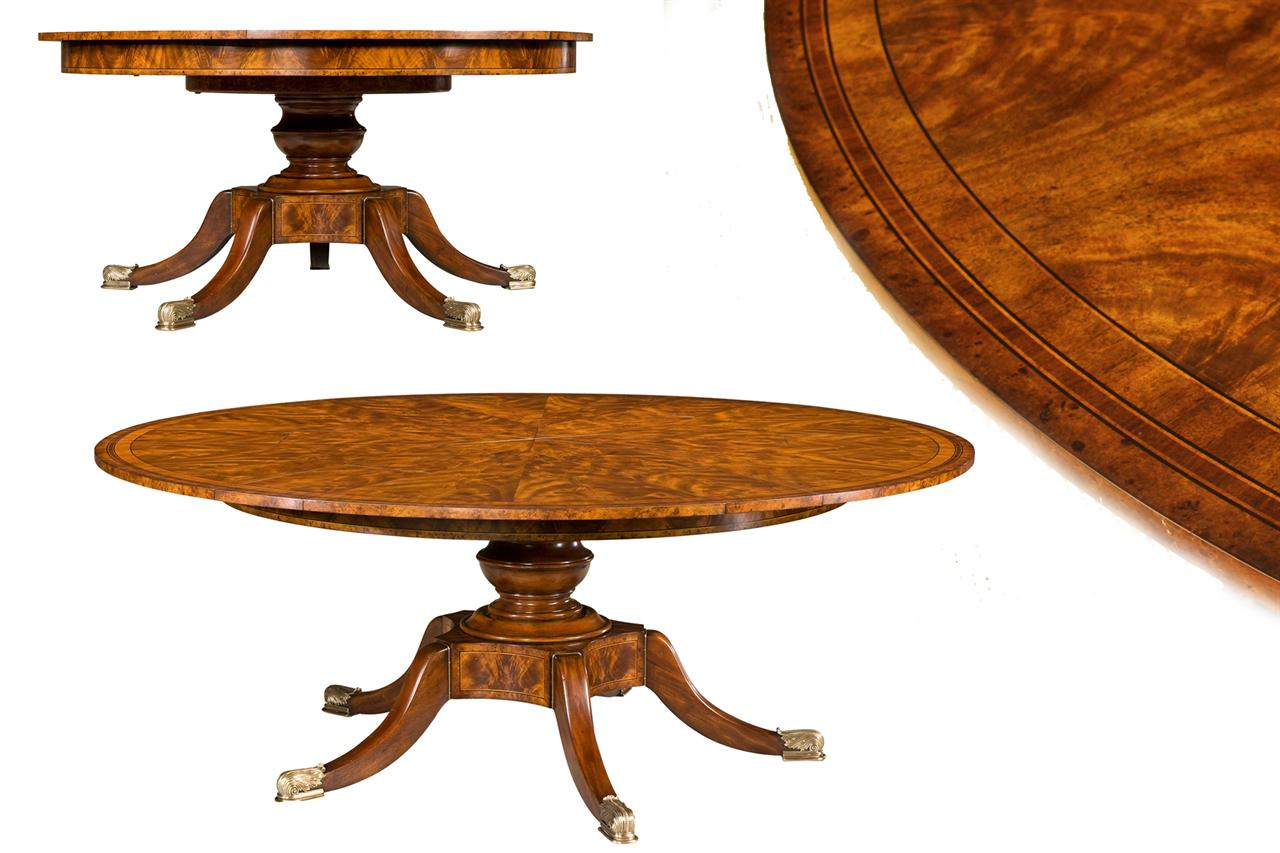 Superior Fine Antique Reproduction Mahogany Jupe Table