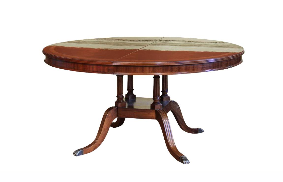 Round To Oval Dining Room Table Round Dining Table With Leaf