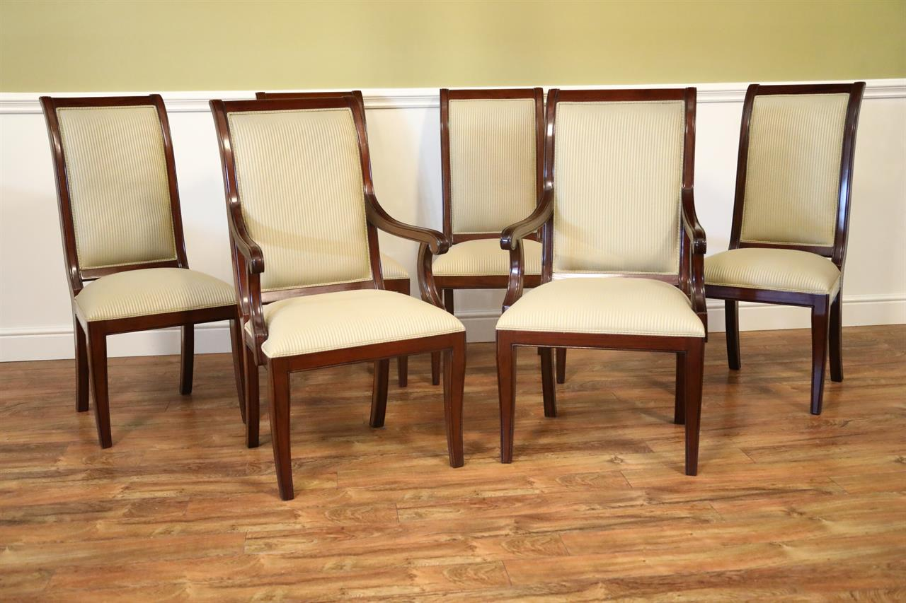 Set Of 8 Mahogany DIning Room Chairs CLOSEOUT SALE PRICE