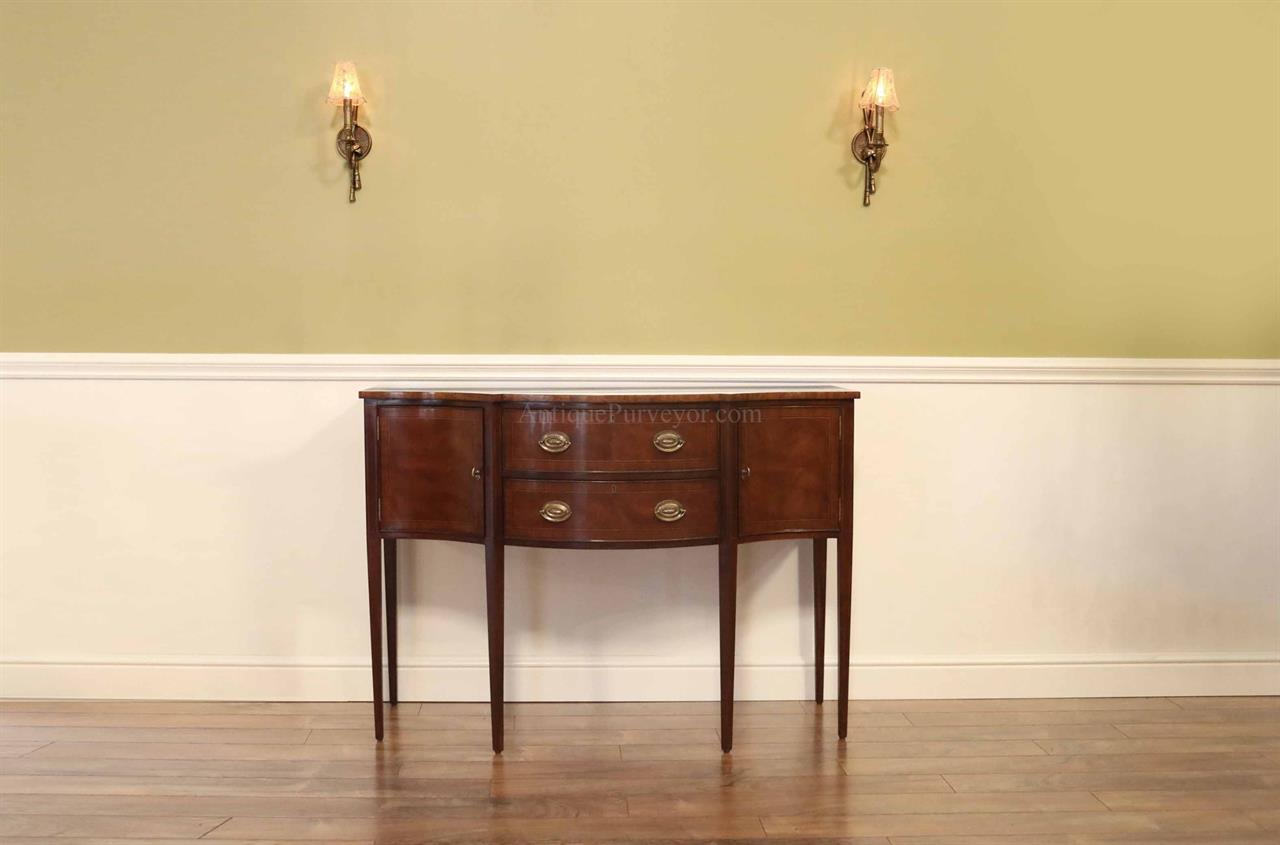 traditional sideboard-antique reproduction sideboard