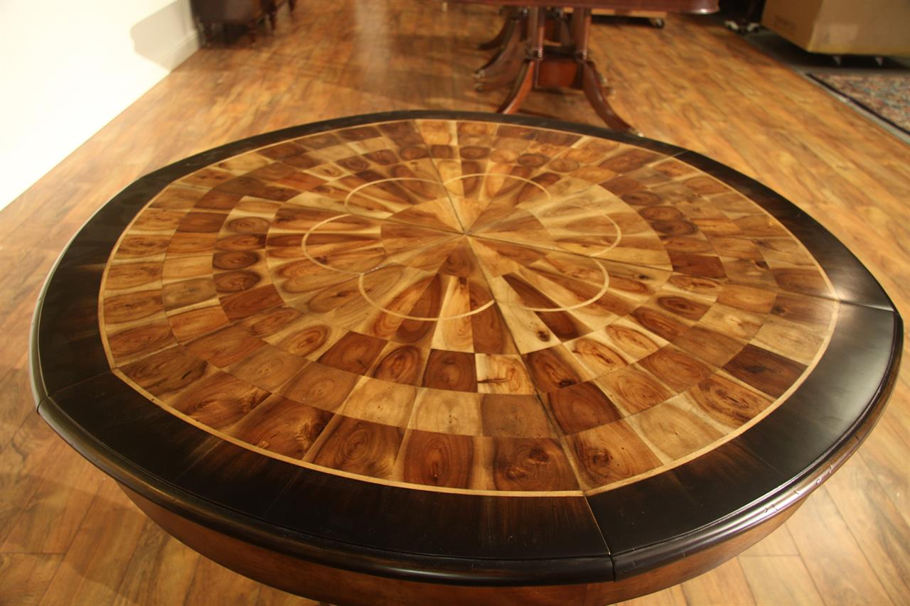 Jupe Table 45 Inch To 56inch Round To Round Dining Table