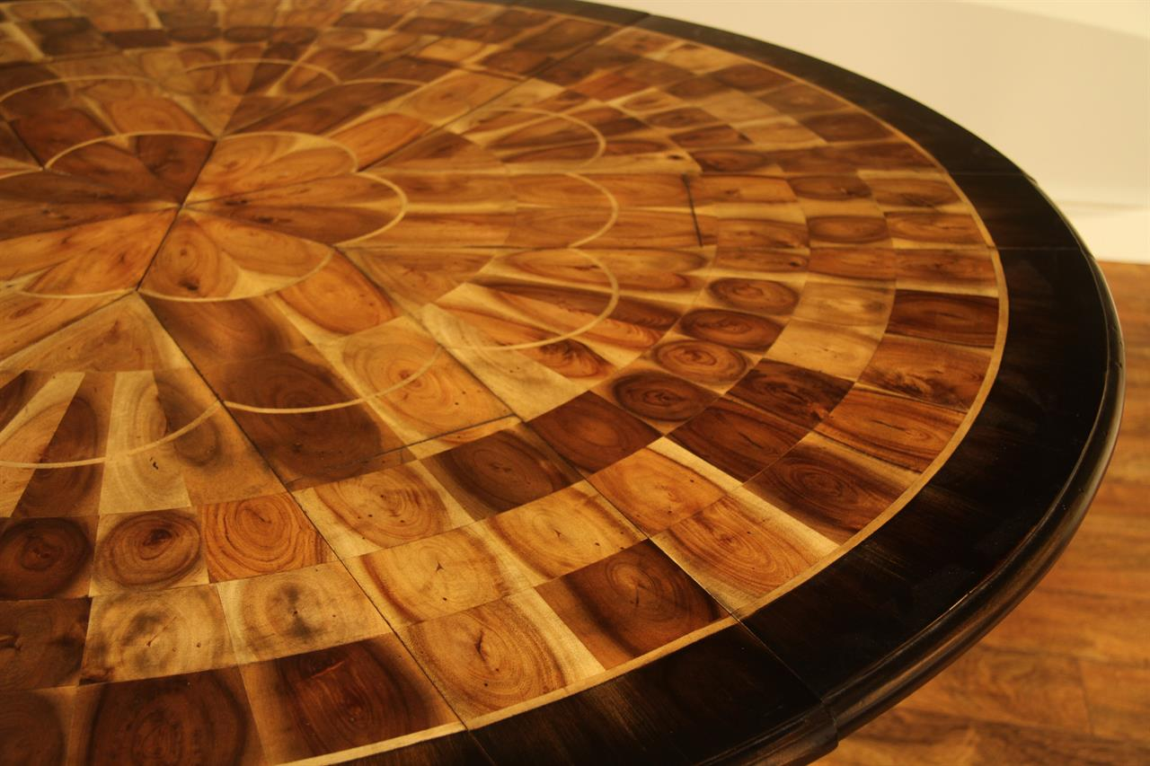 Jupe Table Inch To Inch Round To Round Dining Table - 56 inch round table
