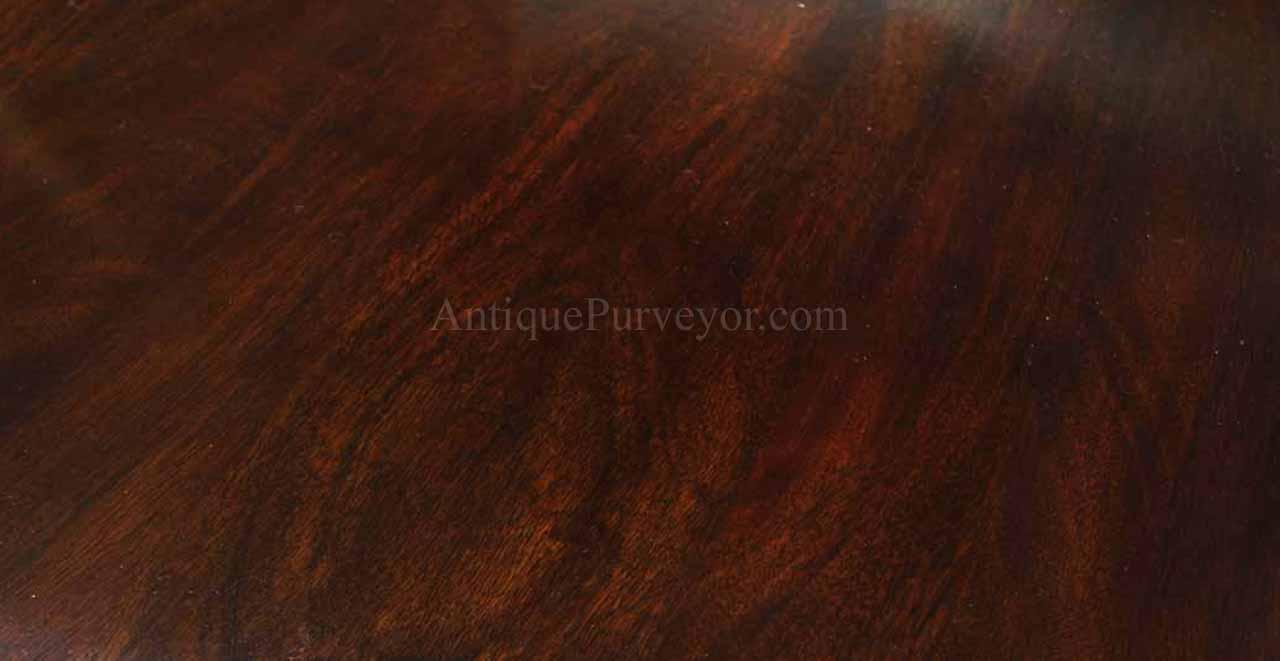 Wooden dining table background - Solid Mahogany Dining Table With Formal Polished Finish