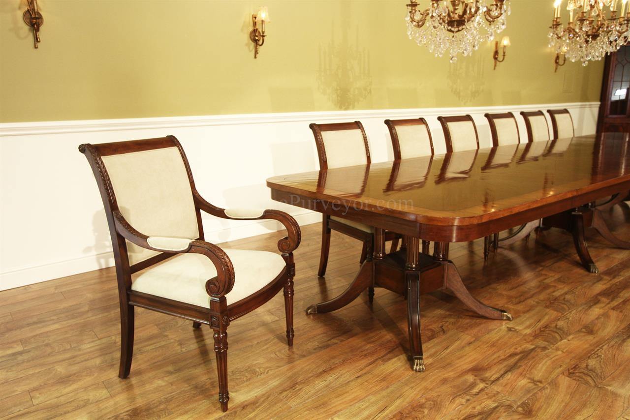 extra large american made solid walnut dining table. Black Bedroom Furniture Sets. Home Design Ideas