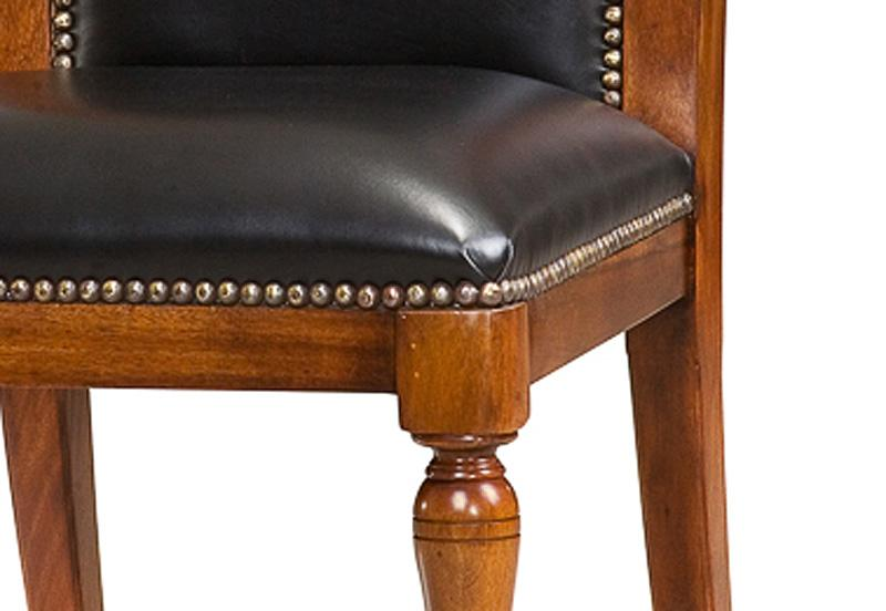 black leather upholstered dining chair black leather available