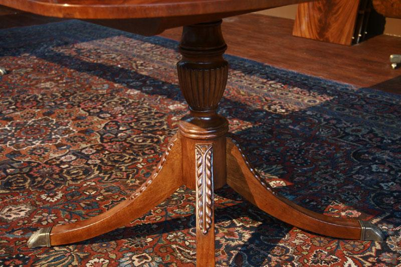 stickley dining room table | STICKLEY Flame Mahogany Dining Room Table Ca.1990 | eBay