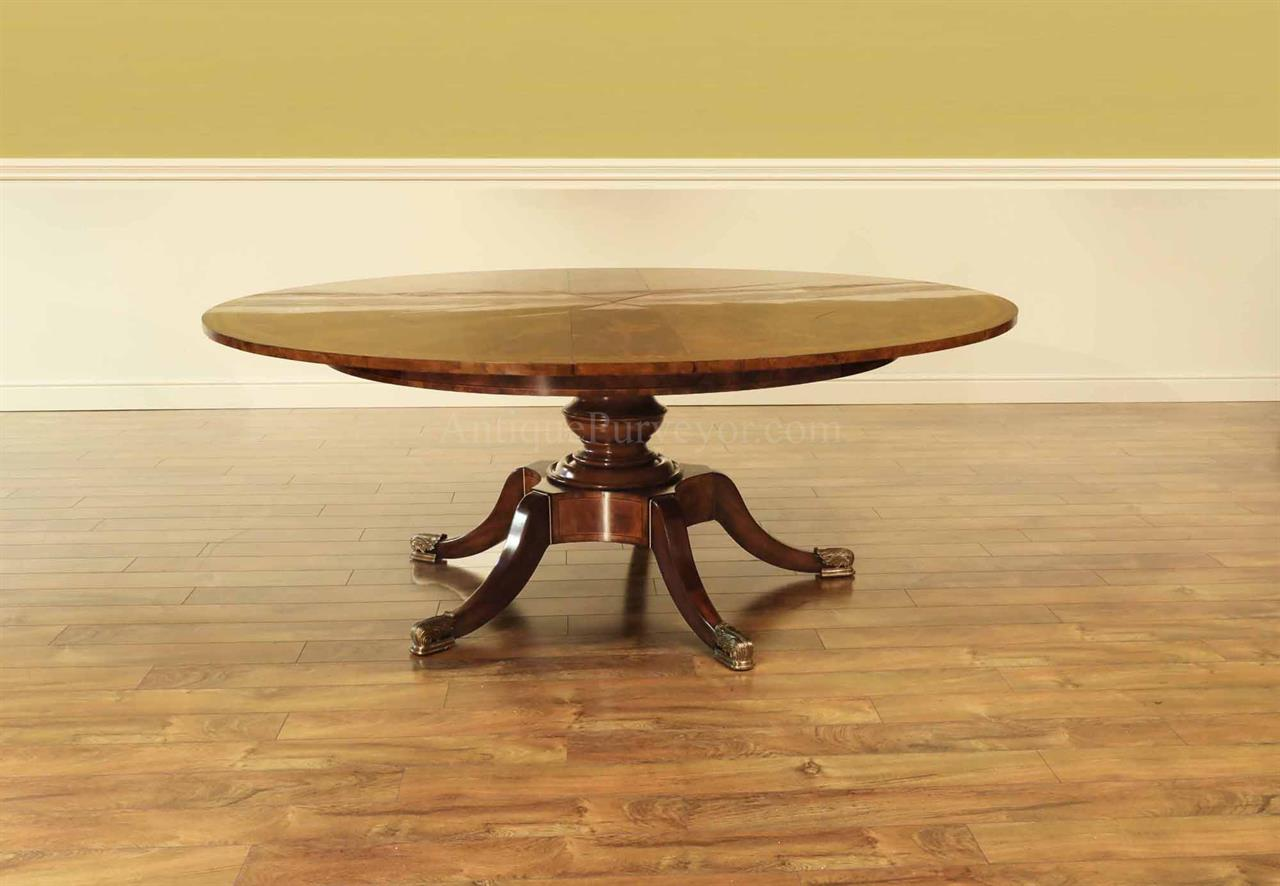 Jupe Table For Sale Traditional And Formal Round Mahogany