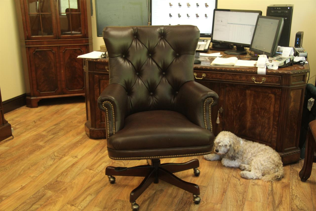 colors for my bedroom brown tufted leather executive chair conference room chair 14910