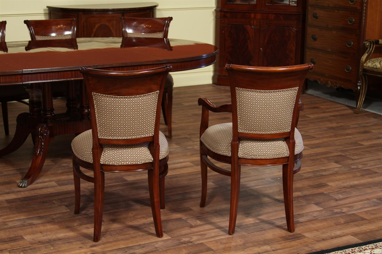 High End Upholstered Back Dining Chairs, Price per chair ...