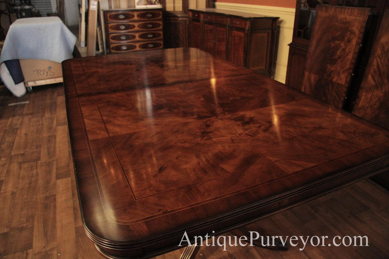 Wide Walnut Veneer Fletches Make A Great Table Face