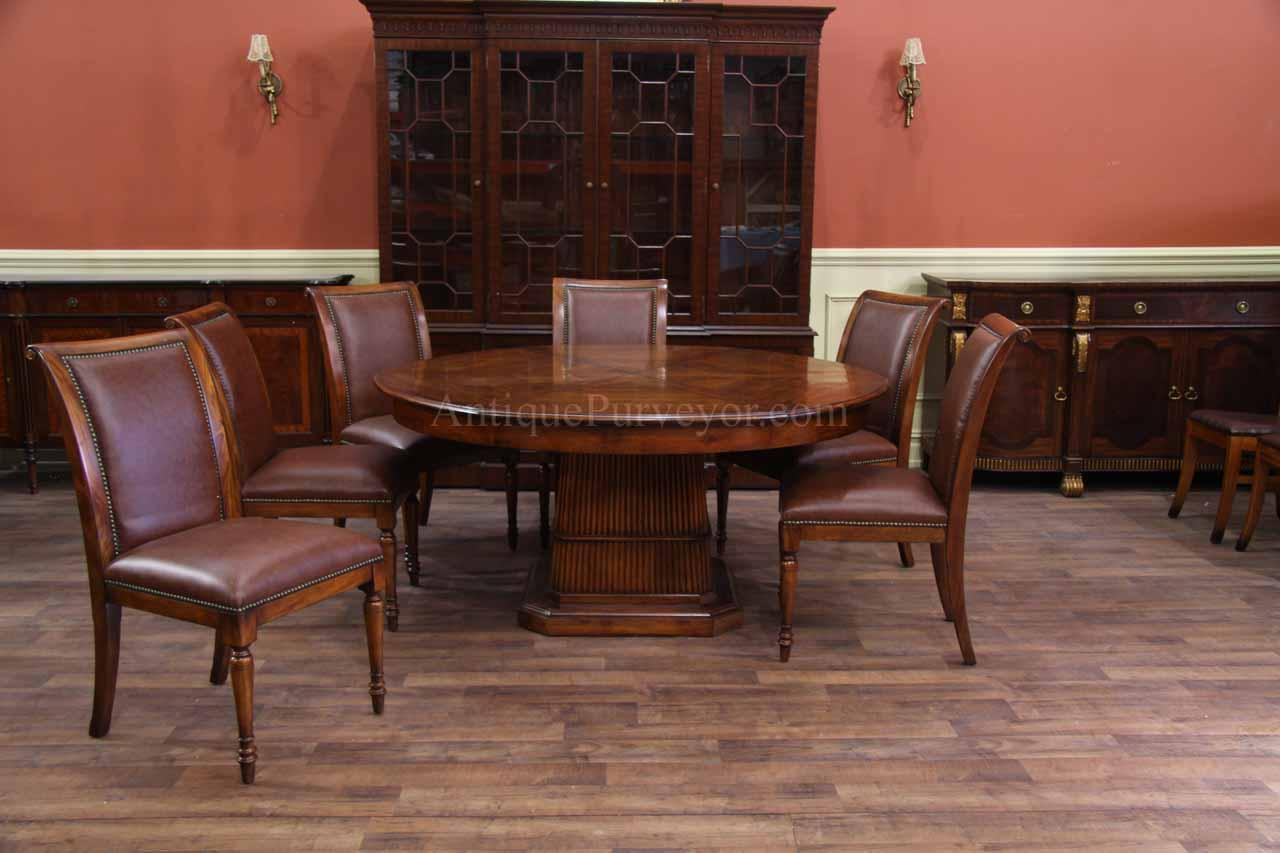100 Dining Room End Chairs 100 Dining Room Chairs  : walnut jupe table with bamboo style base opens from 66 to 84 round 10475 from 45.76.66.238 size 1280 x 853 jpeg 93kB