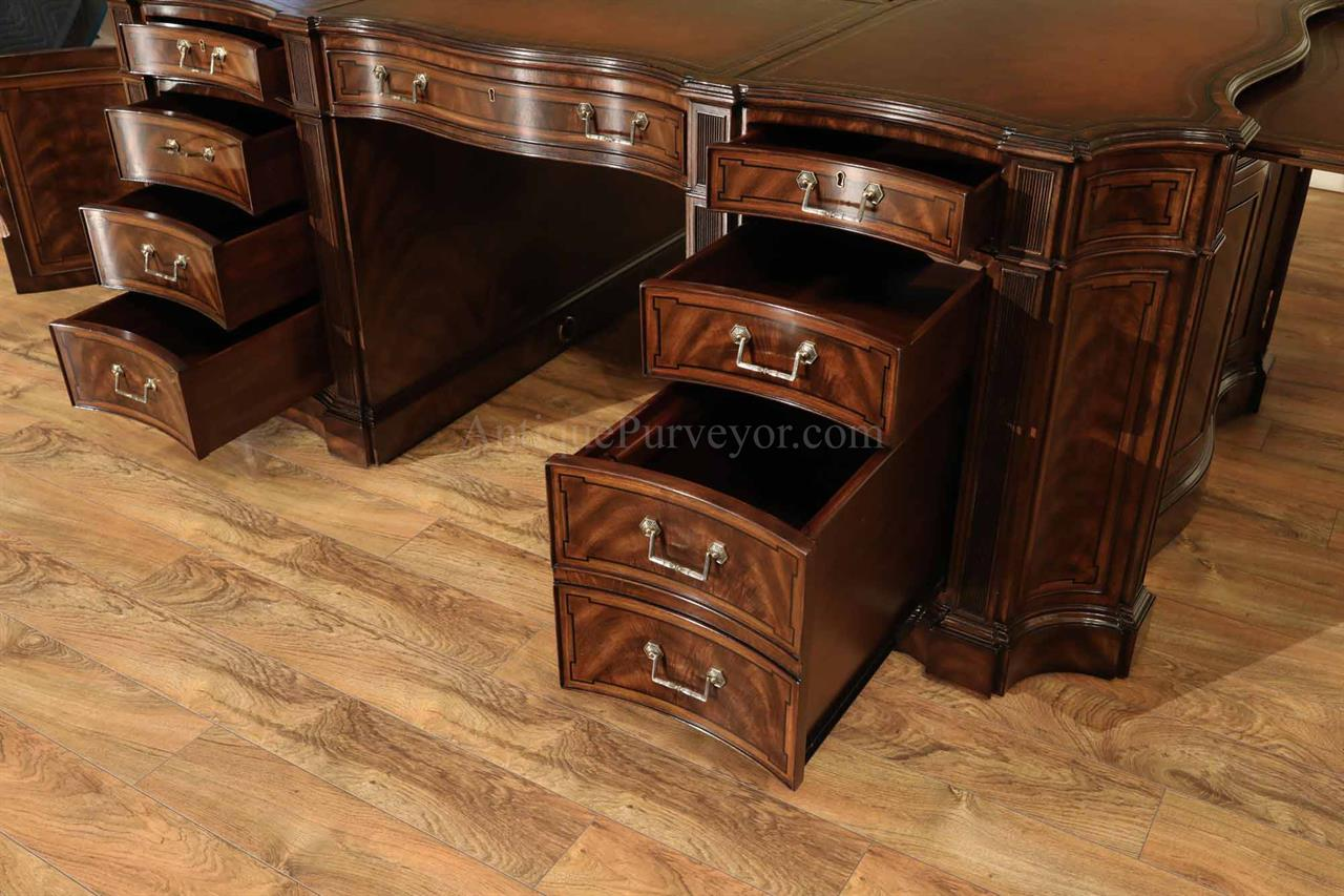 Each Partner Gets A File Cabinet Their Right Side With 2 Small Drawers On Top