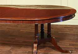 Round to oval dining tables for sale
