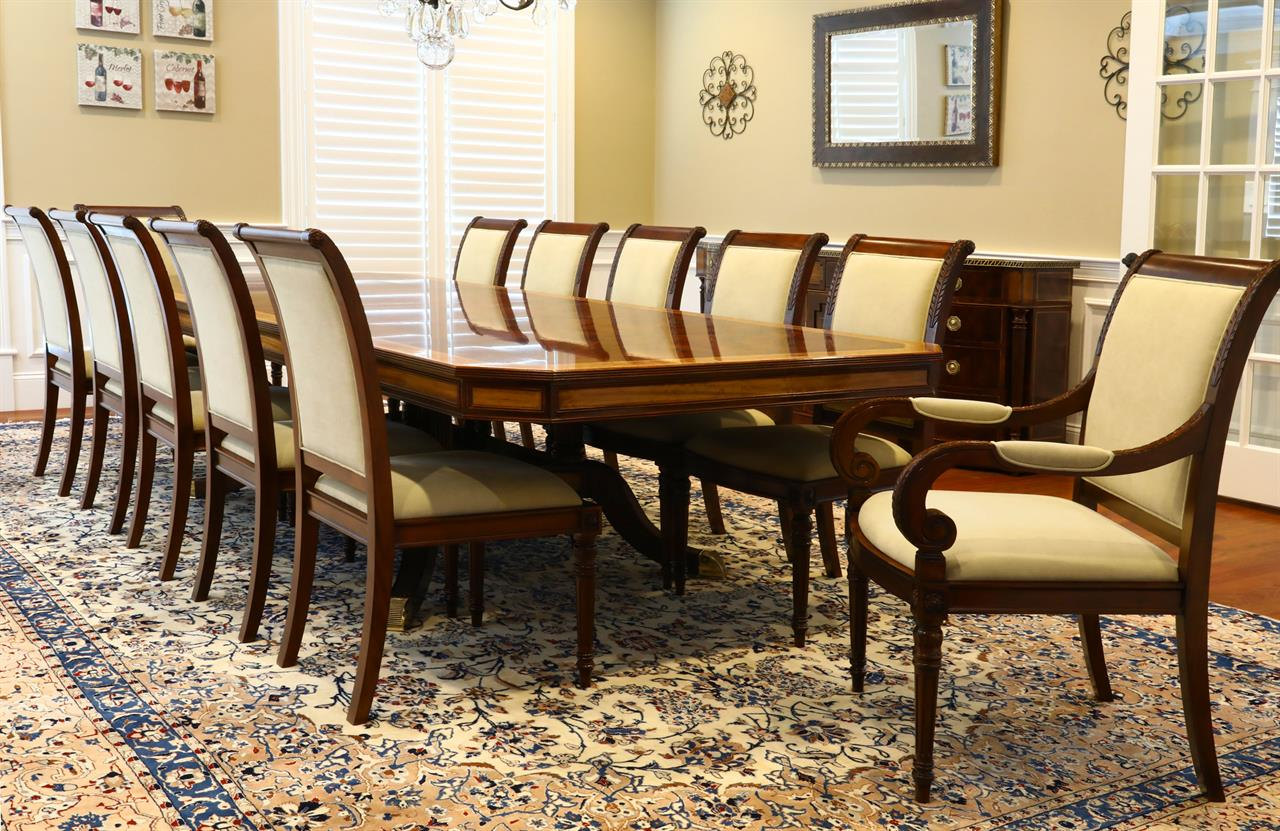 High Quality Mahogany Furniture for a Traditional Dining Room -